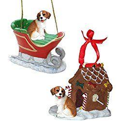 Beagle Figurine Christmas Ornaments Christmas Ornaments