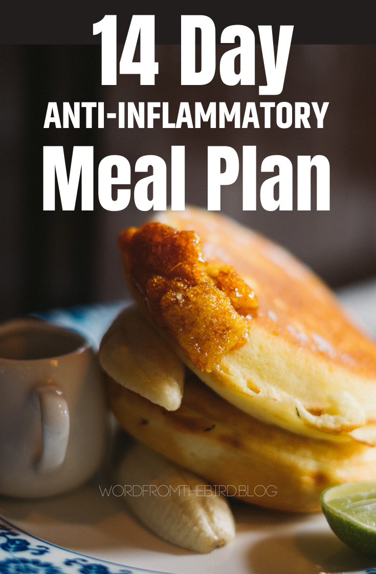 2 Week Anti Inflammatory Meal Plan Breakfast Lunch And Dinner Recipes Word From The Bird Anti Inflammatory Diet Recipes Ketogenic Diet Meal Plan Anti Inflammatory Recipes