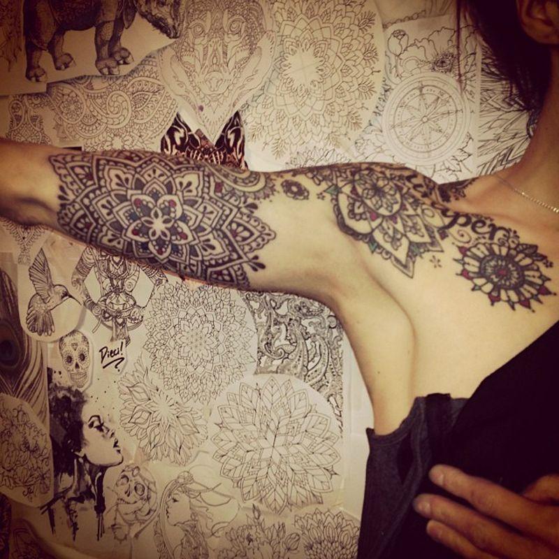 Mandala Tattoo Design On Pinterest: Http://www.moneymakeia.com