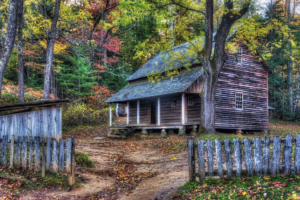 Charmant Great Smoky Mountains National Park Holds One Of The Best Collections Of  Log Buildings In The