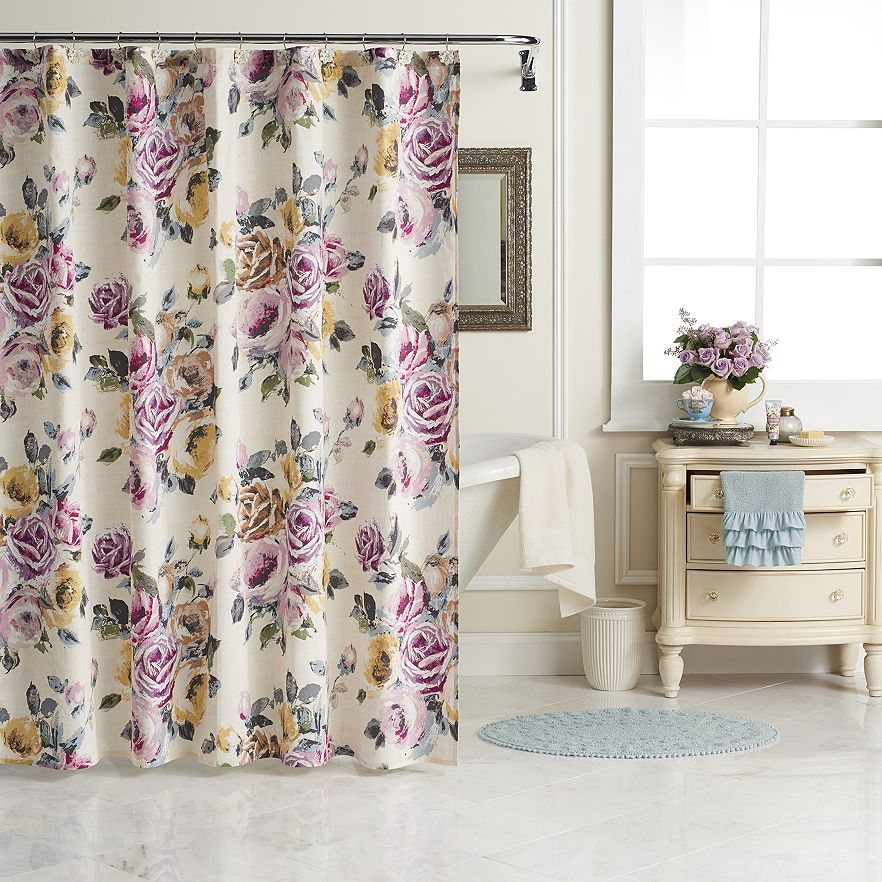 lc lauren conrad for kohl's rose garden bath collection | home