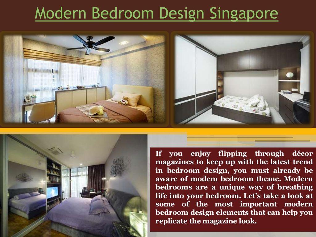 Bedroom Interior Design Singapore By Interior Design Singapore Via