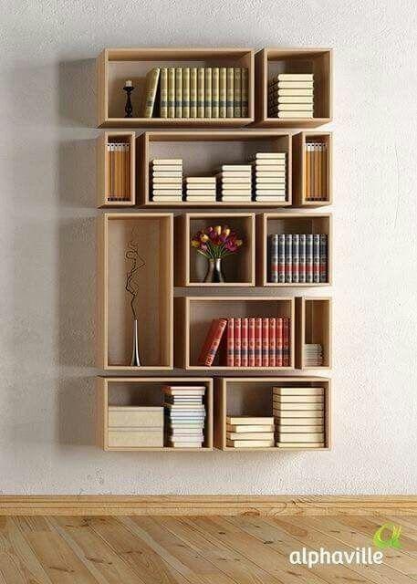 Librero decoraci n muebles muebles para libros y for Muebles para libros modernos