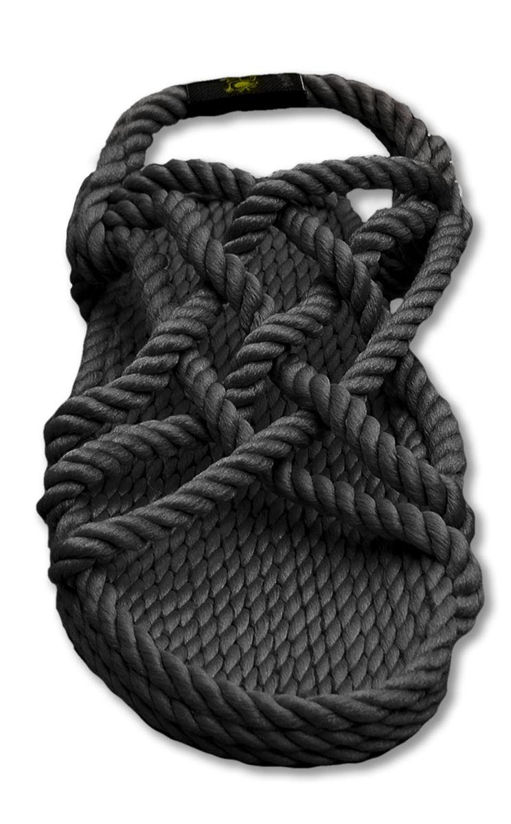 908343fdf176 The JC rope sandal is back in black!