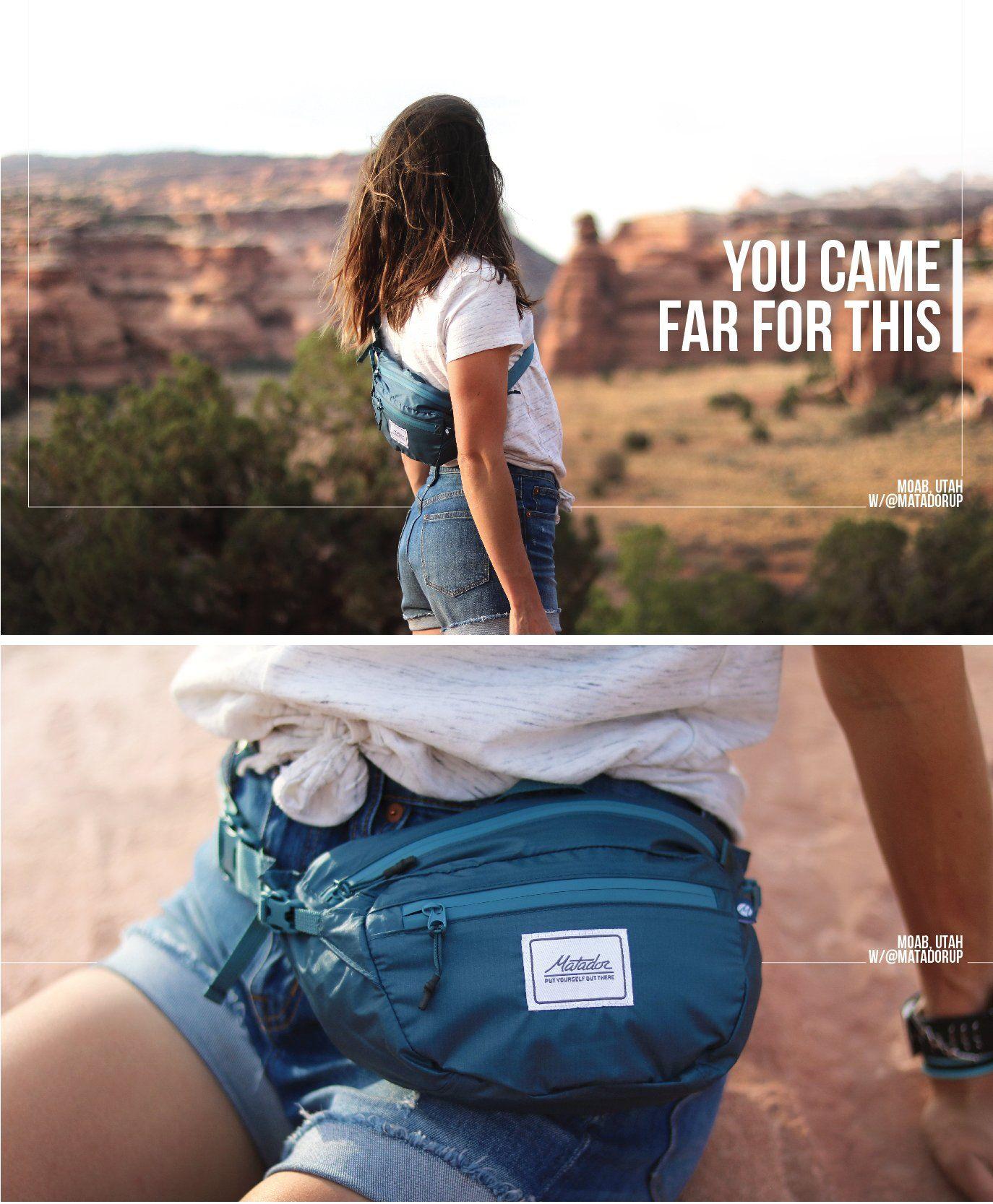 Hip Pack Want Pinterest Camping Matador Flatpak Toiletry Bottle 1