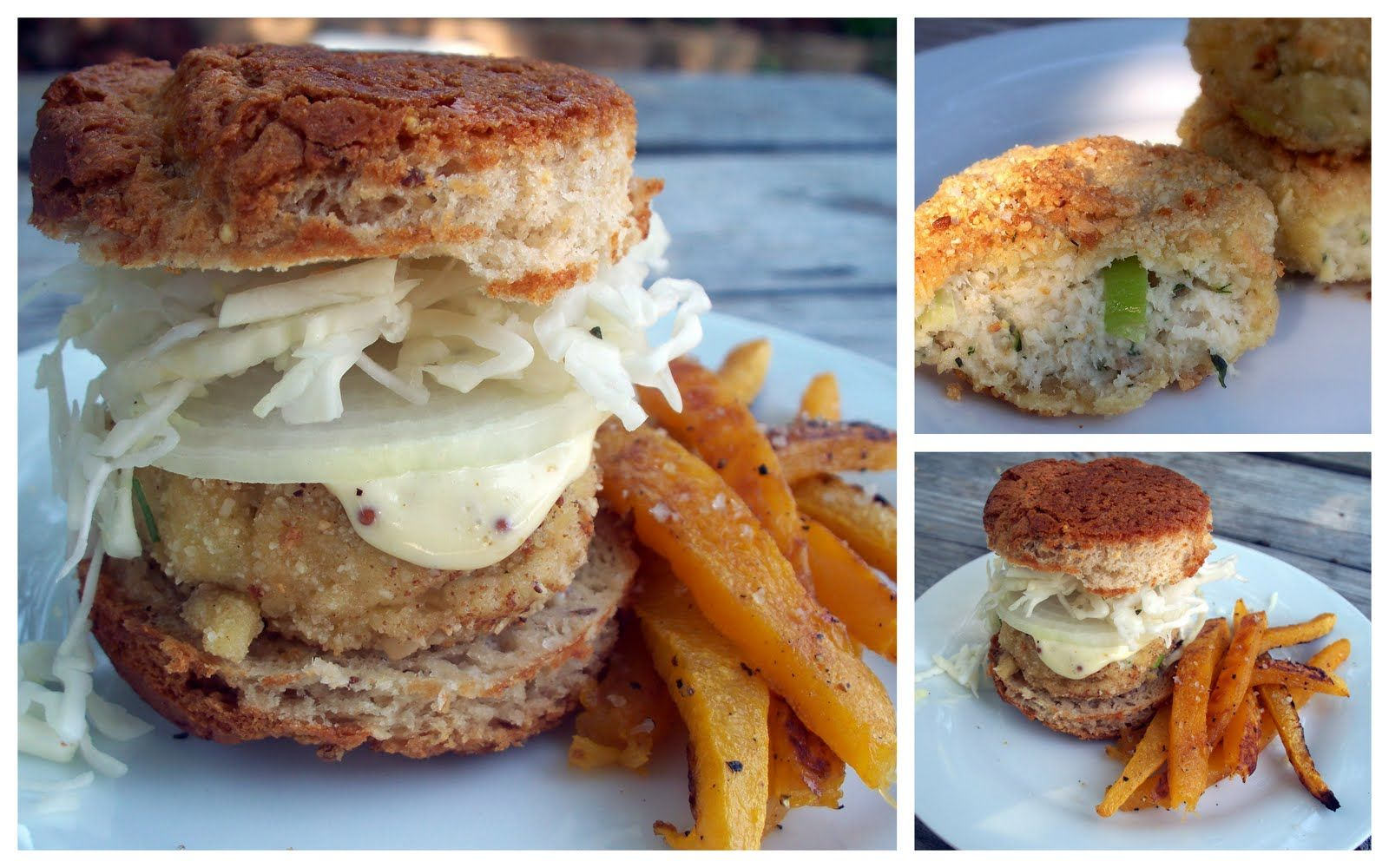 The Urban Poser:: Almond Crusted Fish Sliders (gluten/grain free)