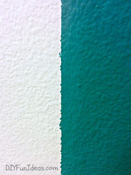 The Secret To Painting Perfectly Sharp Lines Stripes Painting Stripes On Walls Painters Tape Design Wall Decorative Painting Techniques