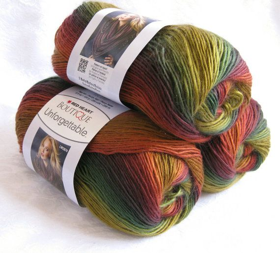 Red Heart Boutique Unforgettable Yarn  Polo
