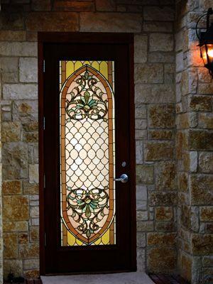 Door Insert Art Nouveau Pinterest Glass Front Door Front