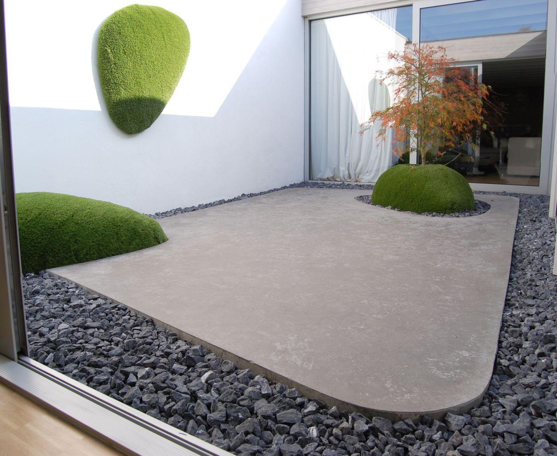 Haus Deko, Hof, Privatgarten, Japanische Gärten, Landschaftsgestaltung, Hof  Ideen, Landschaftsbau, Äußere, Zeitgenössisch