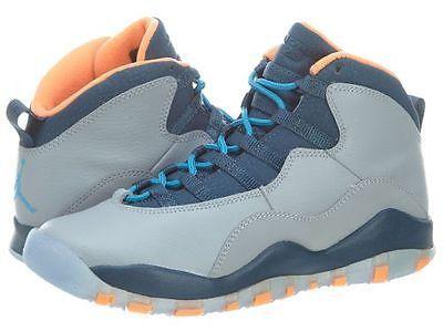 353b16211104 Nike Air Jordan 10 X Retro Bobcats Gs Big Kids 310806-026 Grey Shoes Size 5