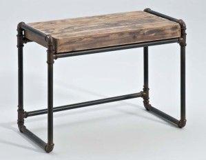13961 console tuyau palettes bois pinterest tuyau console et meubles. Black Bedroom Furniture Sets. Home Design Ideas