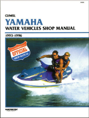 Clymer Repair Shop Service Manual 93 96 Yamaha Watercraft 500 1100cc W806 In 2020 Water Crafts Clymer Repair Shop