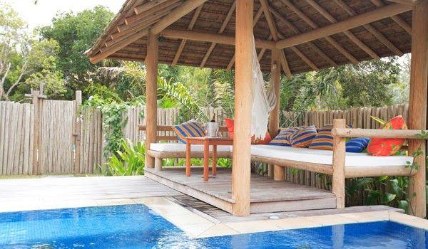 Pin von clarissa lopes auf pousadas pinterest for Garten pool cham