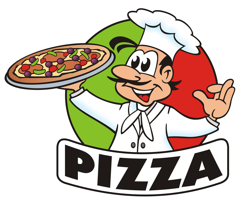 Pizza Cartoon Logo By Flavia Gibson Pizza Cartoon Pizza Chef Pizza Logo