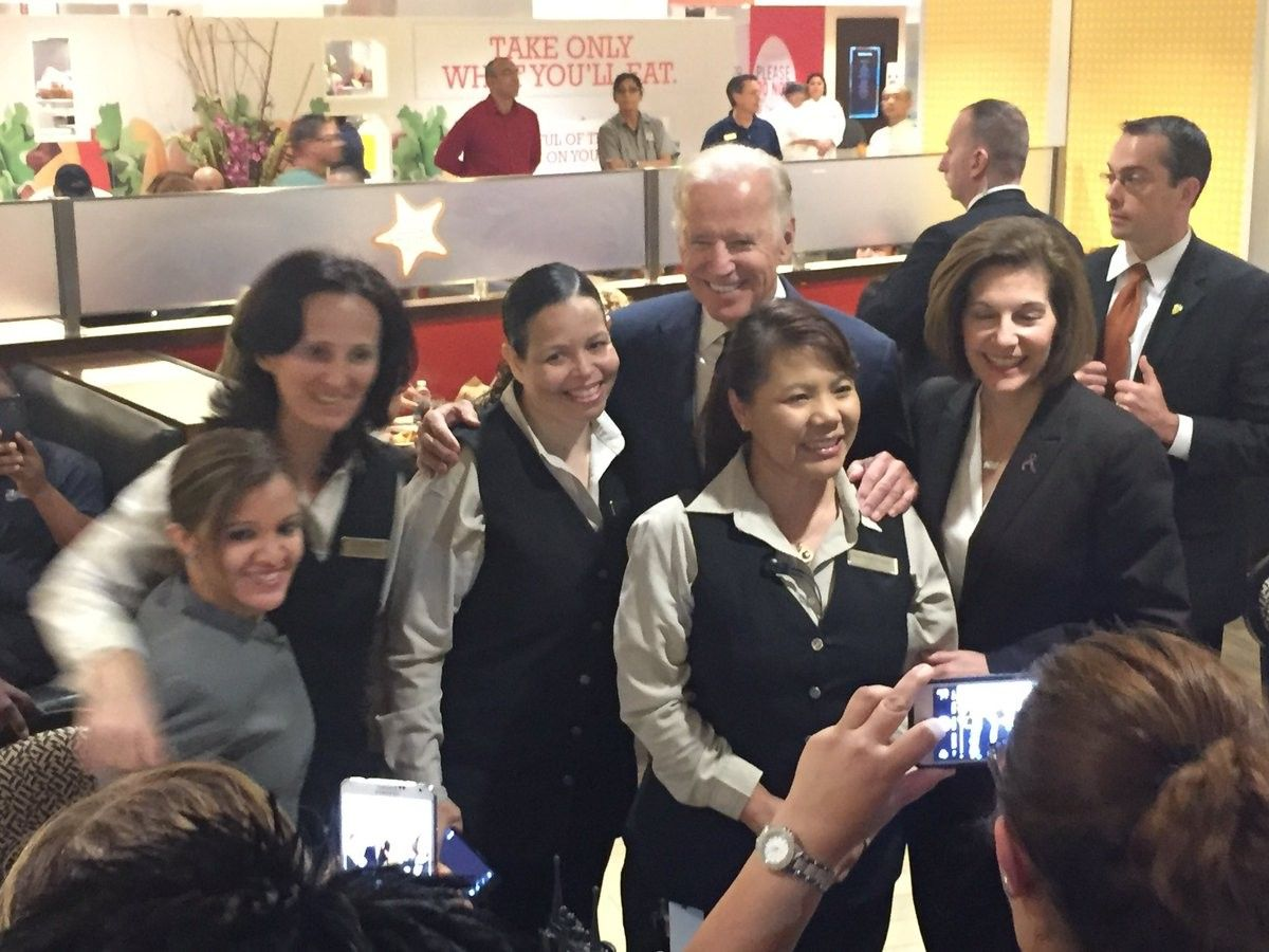 Vice President Biden rallies Democratic voters during Las Vegas visit   KSNV