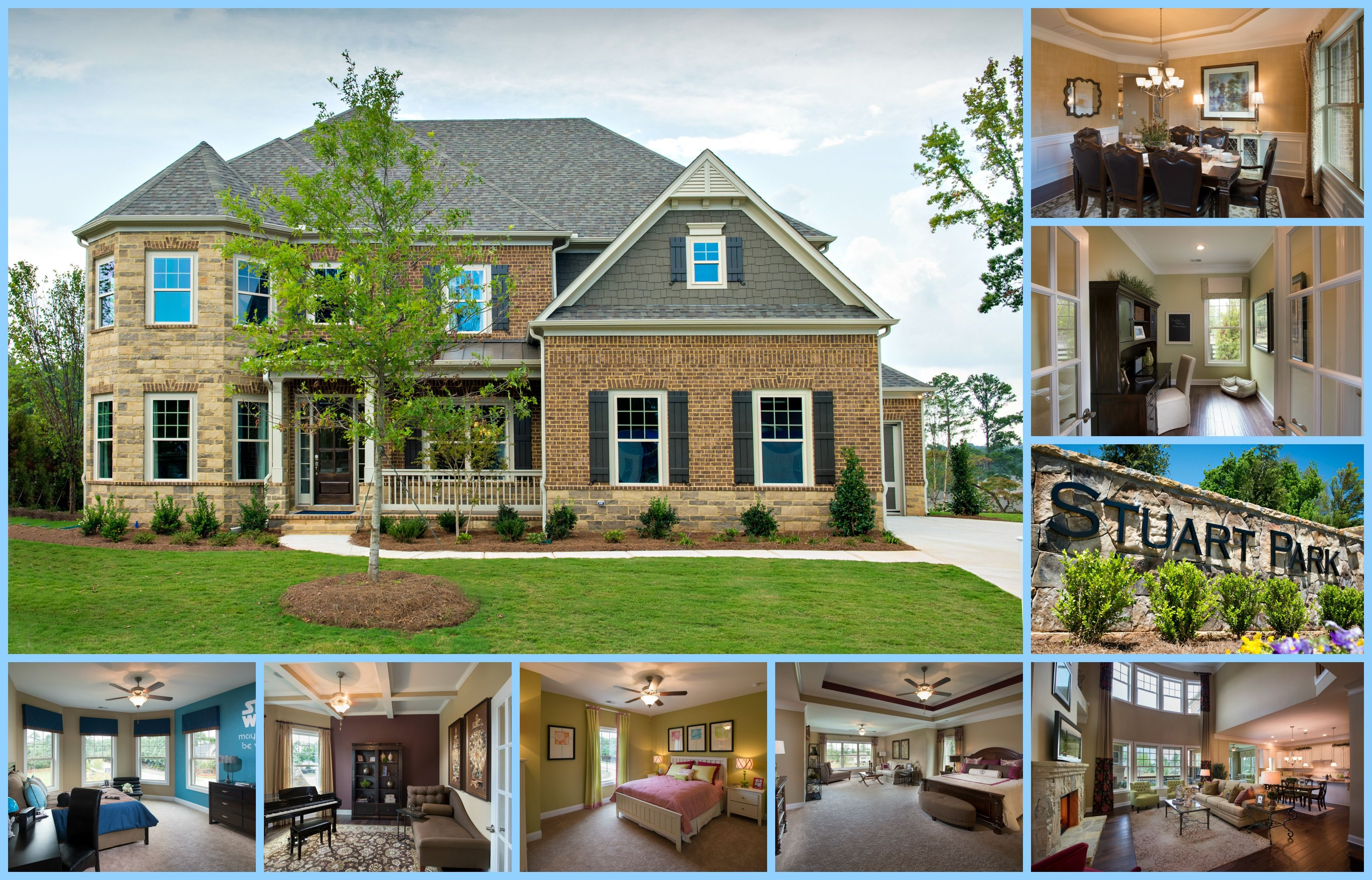 Decorated model homes atlanta