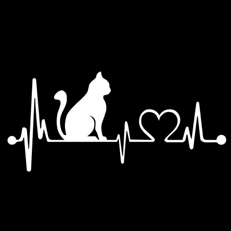 CAT kitty Feline V1 Heartbeat Lifeline - 8