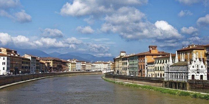 River Arno, Pisa, Italy