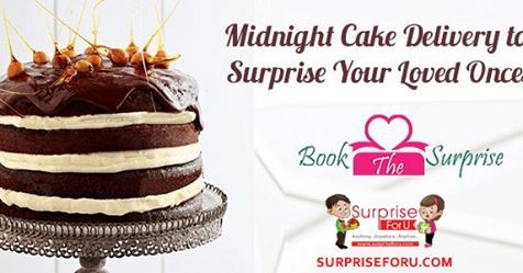 Midnight Cake Delivery To Surprise Your Loved Ones You Can Book The Online And Get It Delivered Doorsteps Of One In