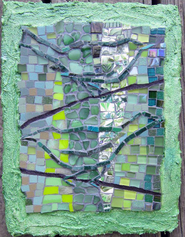 Abstract Mosaics inspired by Nature by Cynthia Fisher - BIGBANGMOSAICS