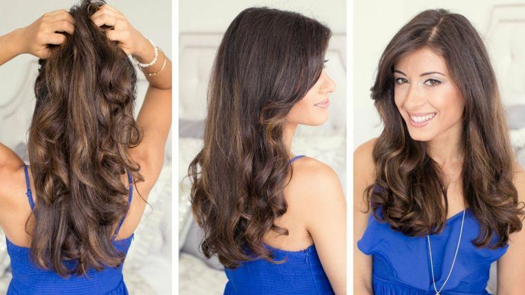 Come fare i capelli mossi long bob