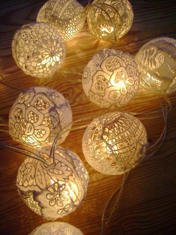 boule de lumi re diy d co pinterest lumiere luminaire et decoration. Black Bedroom Furniture Sets. Home Design Ideas