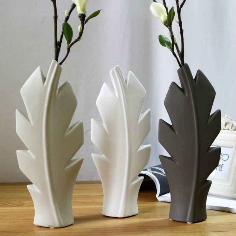Creative Decorative Ceramic Vase Flower Display Desktop Ornament Home Decor
