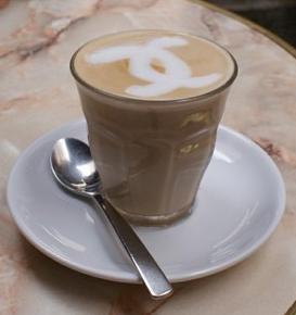 Chanel latte