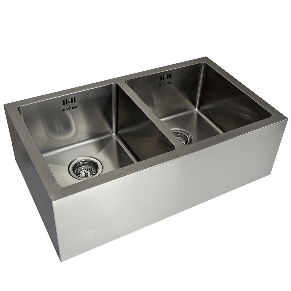 Granite Kitchen Sinks Uk Astini Belfast 800 20 Bowl Brushed Stainless Steel Kitchen Sink