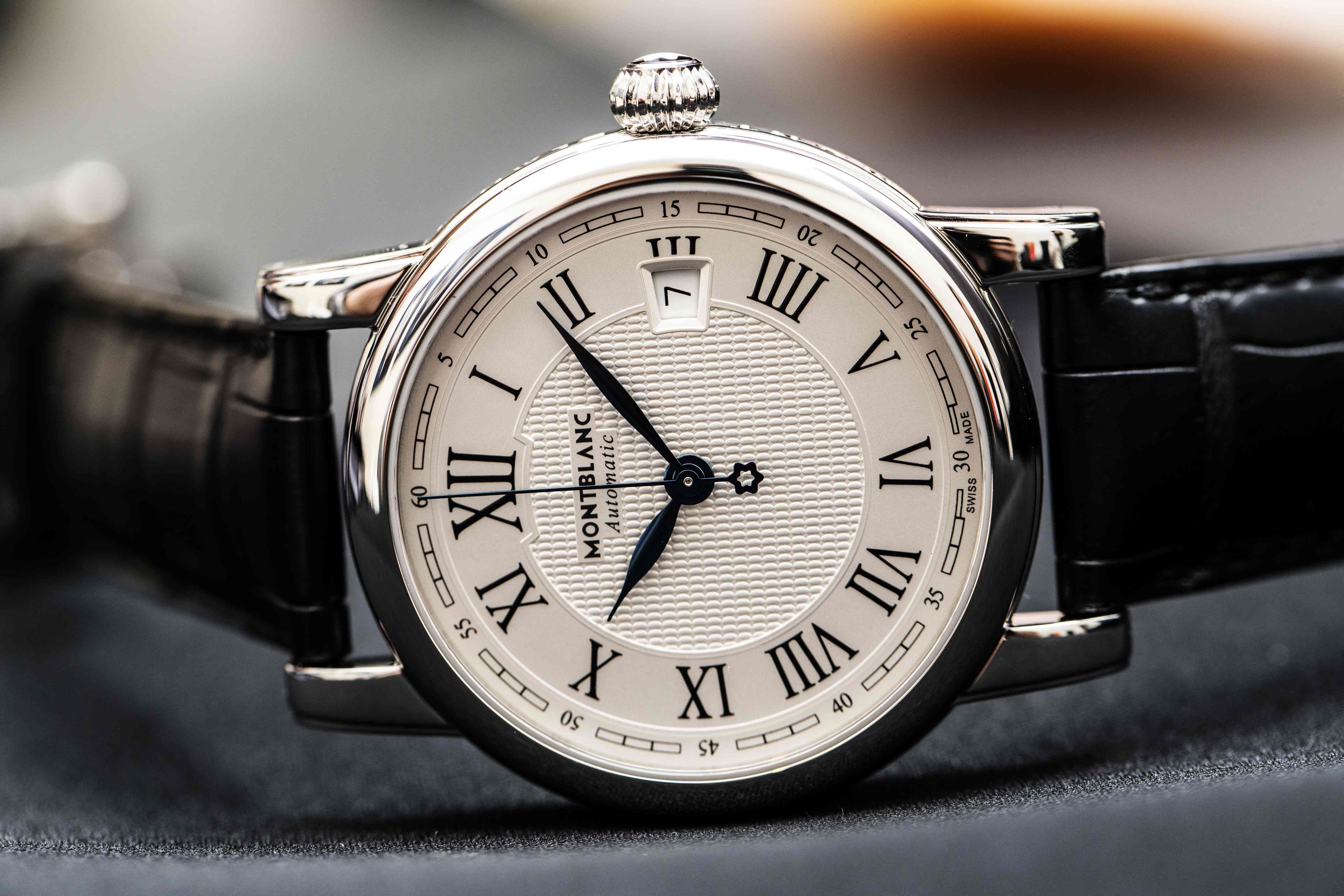 c61a5fdc7d4 Baume & Mercier's Clifton vs. Montblanc's Star Date Automatic ...