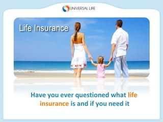 Life Insurance Overview   Life insurance, What is life ...