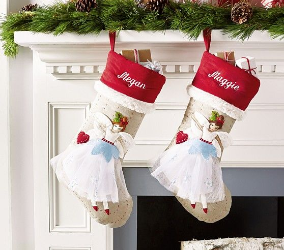 Woodland Stocking Collection Pottery Barn Kids Furniture