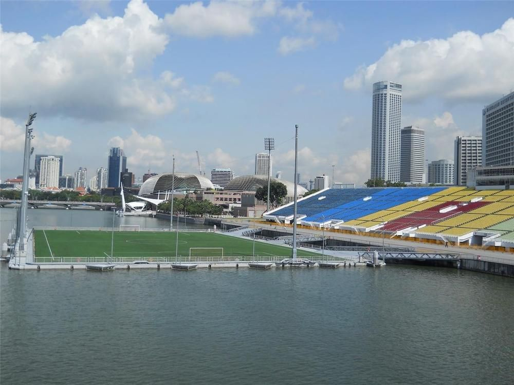 Marina Bay Floating Stadium Glossy Poster Picture Photo Soccer Singapore 1893 Ebay Poster Pictures Soccer Players Picture Photo