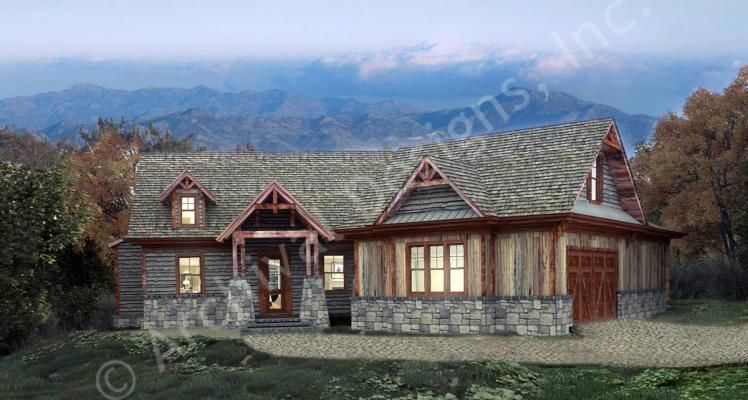 Egrets Pass Cottage House Plan Mountain House Plans Lake House Plans Cottage House Plans