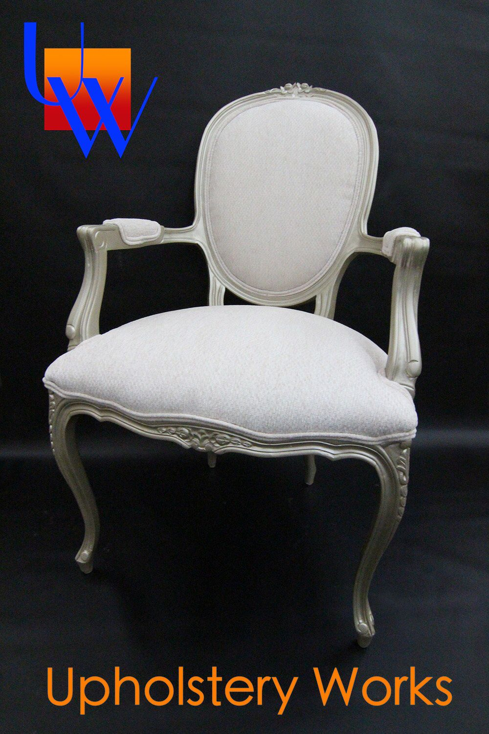 Marvelous Champagne Wedding Chairs: Vintage Furniture: Upholstery By Upholstery Works  In Las Vegas. Http