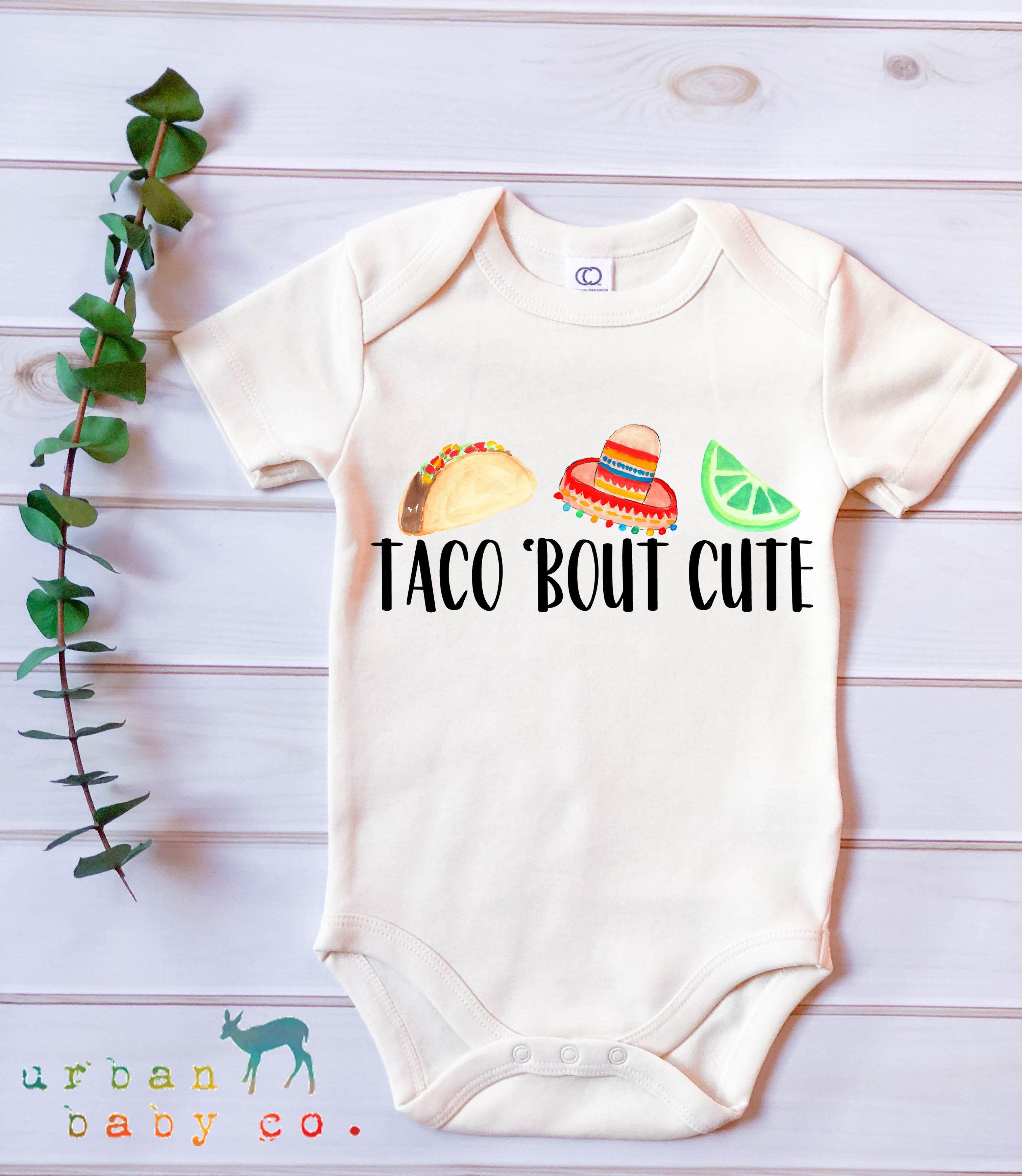 Baby Onesies I Love Tacos 100/% Cotton Bodysuits Cute Short Sleeve Bodysuit