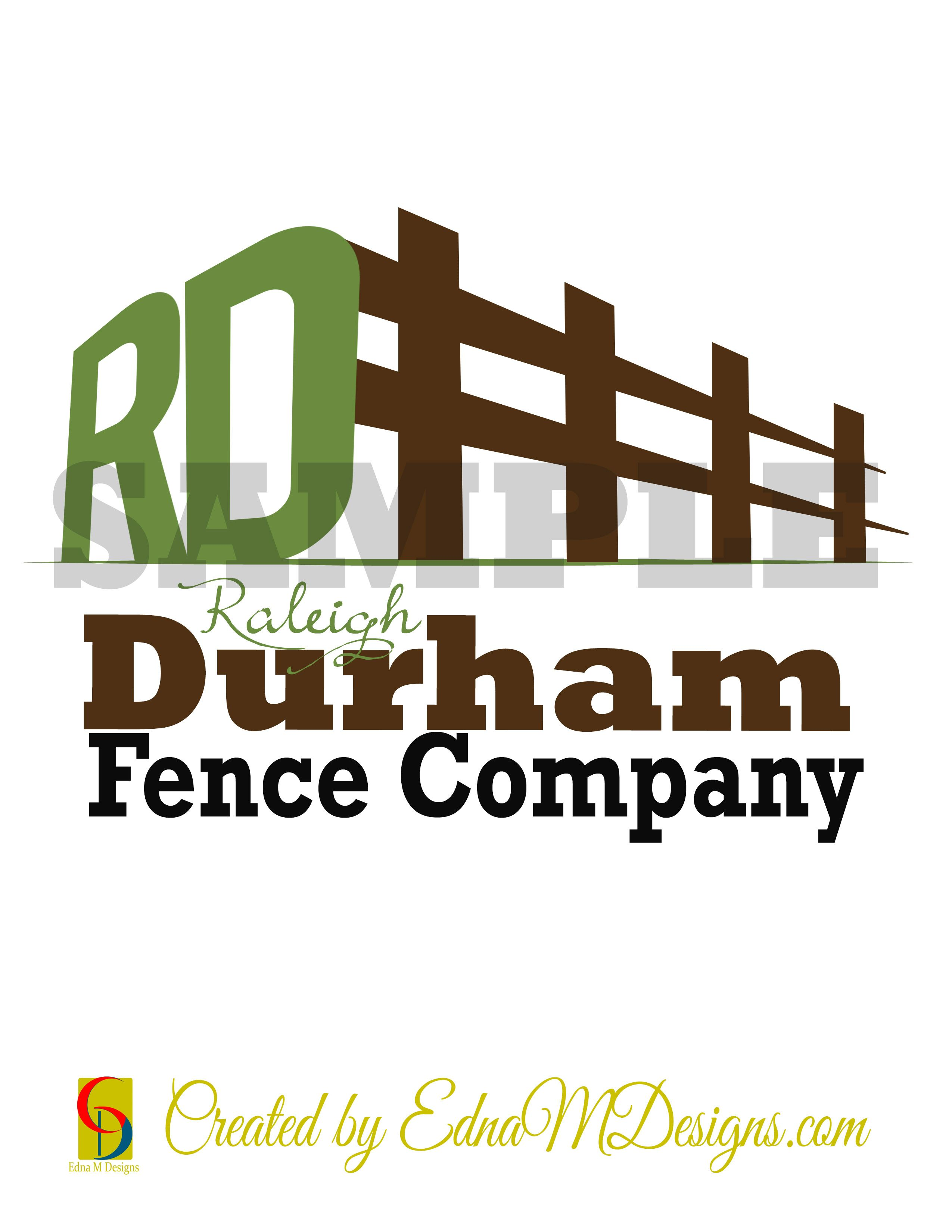 Fence Company Logo Design by Company