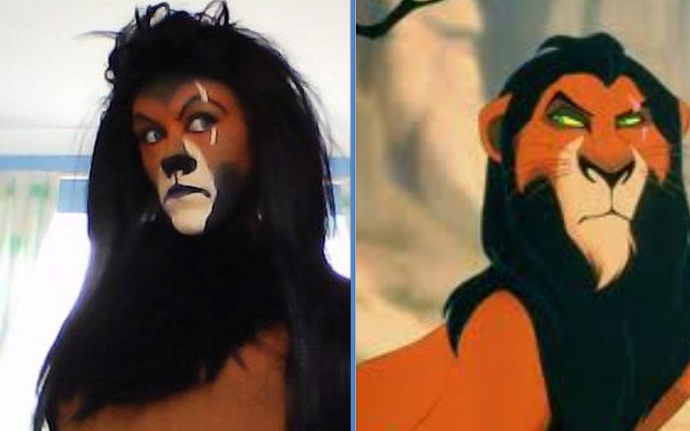 Exceptional SCAR DISNEY VILLAIN THE LION KING