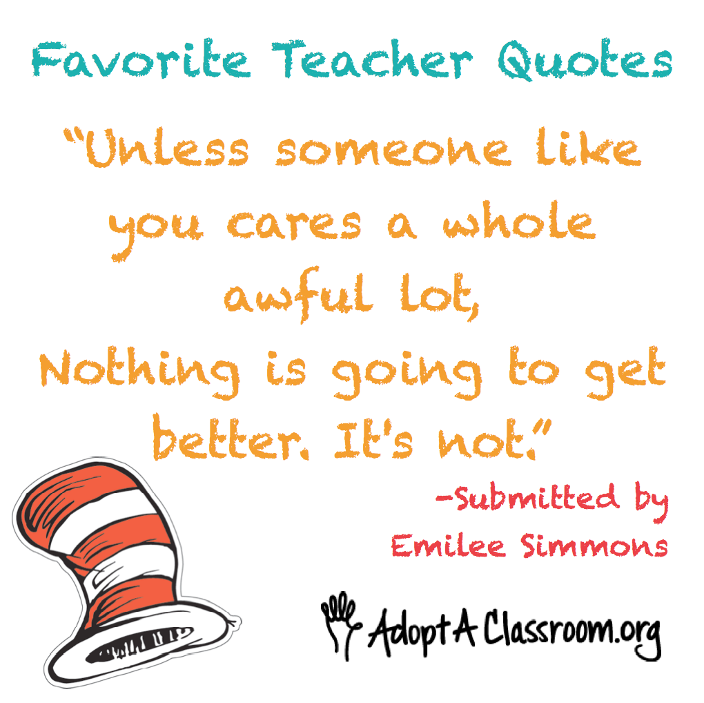 Teacher Quotes For The Classroom. QuotesGram