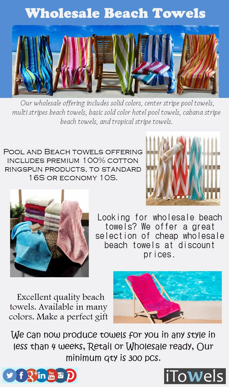 Pin By Hair Salon On Itowels Wholesale Beach Towels Pool Towels