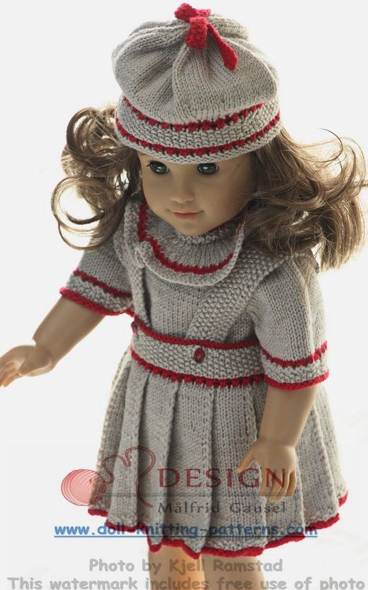 Knitting Clothes For Dolls : Dolls clothes knitting patterns doll