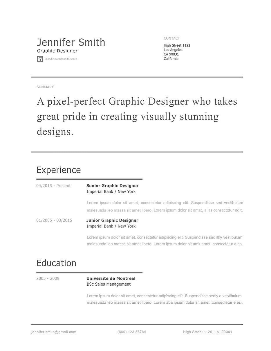 Modern Resume Template 120250 Templates By Resumeway Modern Resume Template Modern Resume Resume Templates