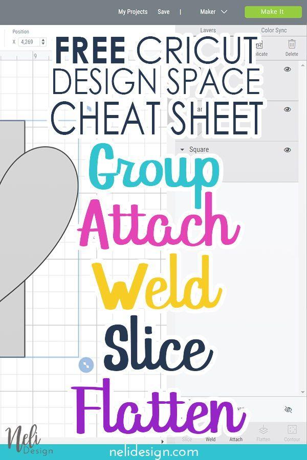 Photo of Cheat sheet – Cricut Design Space