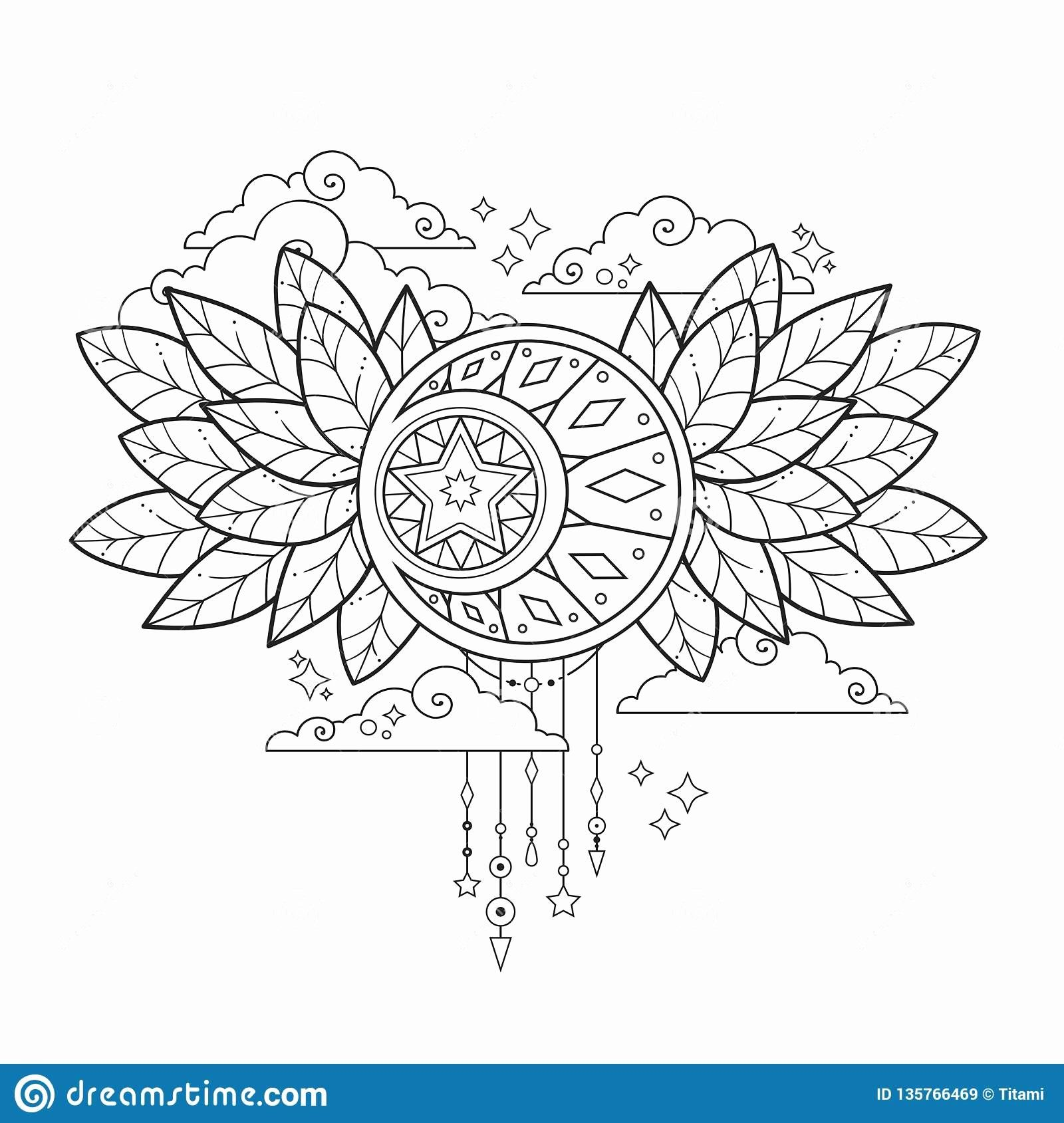 Palm Branch Coloring Sheet Awesome The Moon In The Clouds And Leaves Stock Vector Designs Coloring Books Coloring Book Art Fairy Coloring [ 1689 x 1600 Pixel ]