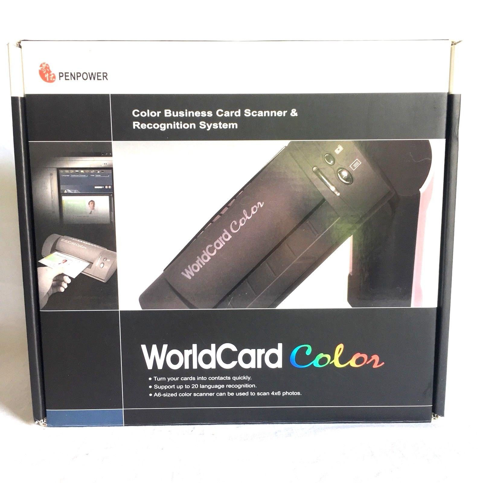 Penpower worldcard color document id business card picture scanner w penpower worldcard color document id business card picture scanner wsoftware colourmoves