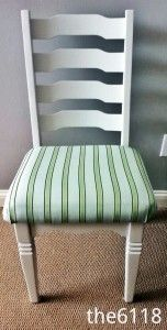 Easy Chair Makeover! Redo a chair for under $10!