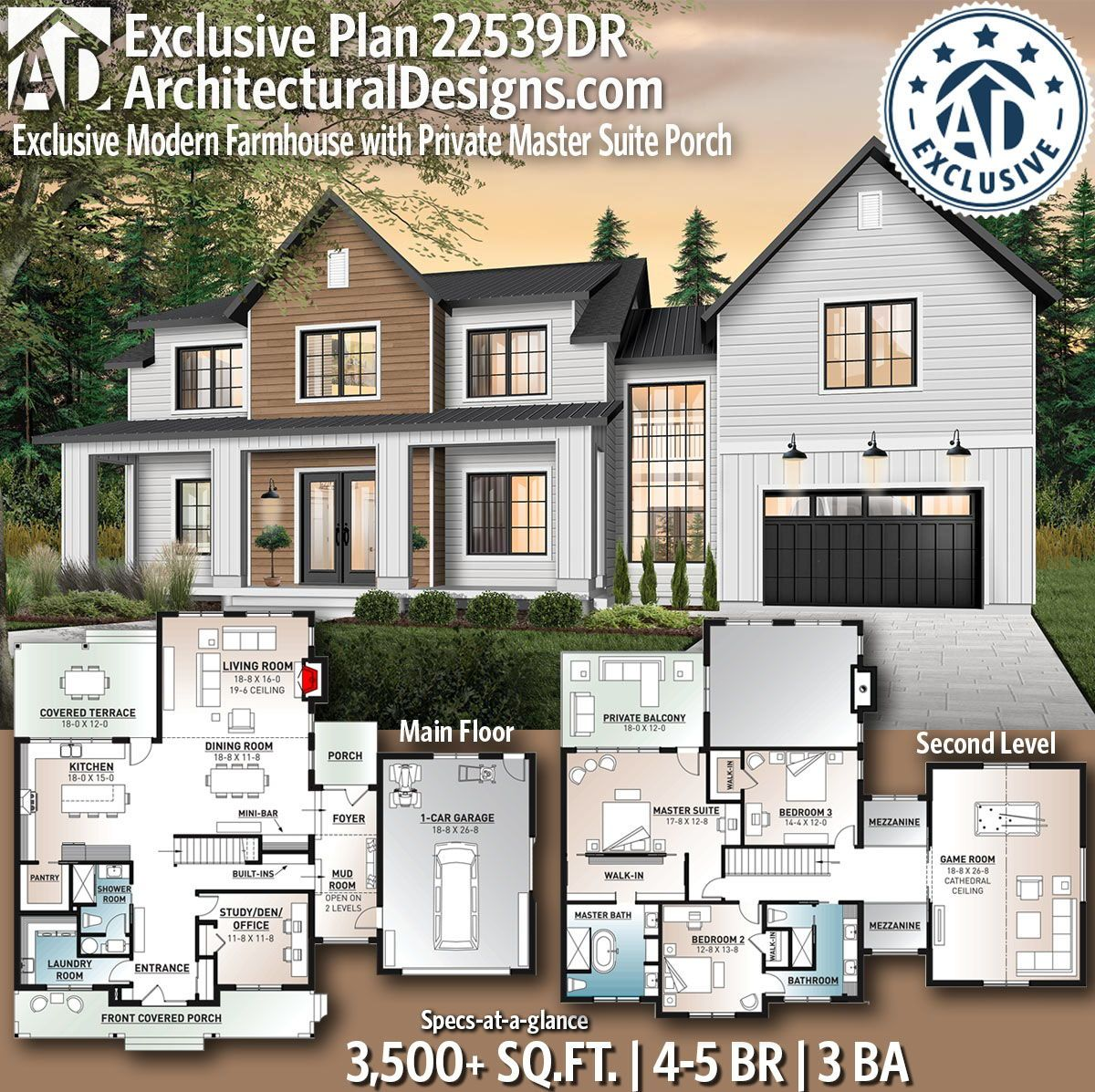 Ready when you are where do want to build dr adhouseplans modern farmhouse architecturaldesigns exclsuive houseplans also architectural designs house plans archdesigns on pinterest rh