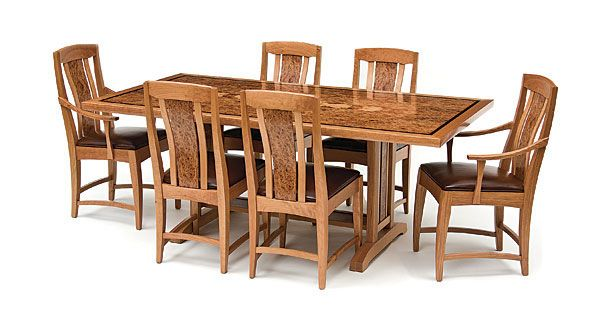Asain And Arts Crafts Dining Set Reader S Gallery Fine Woodworking