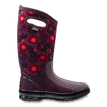 Bogs Women's Classic Water Color Tall Boot Plum Multi Size 7 M